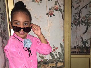 Solange Shares Photos of Niece Blue Striking a Pose: 'Gucci Campaigns Can't Even Touch Her'