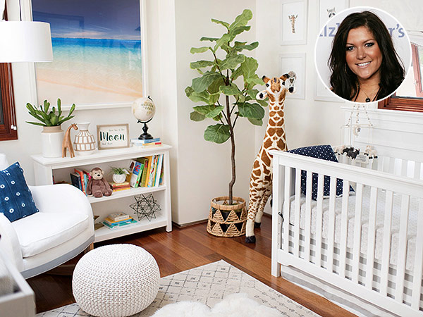 Inside Alex Murrel Johnson Beach Themed Nursery For Son