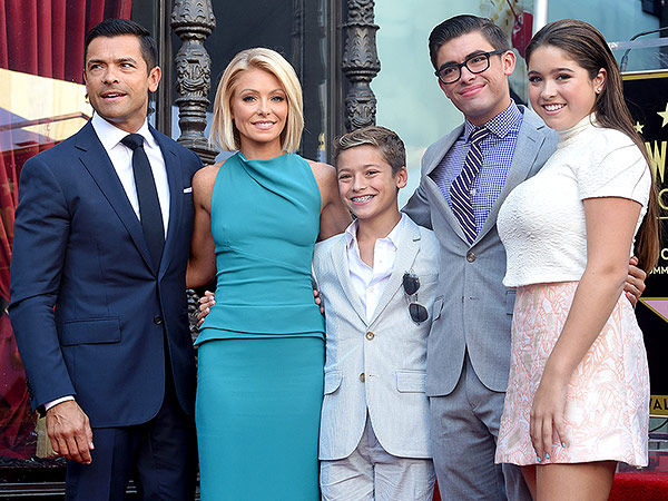 Kelly Ripa Talks About Living Bicoastal with Her Family