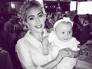 Lady Gaga Beams as She Celebrates Her Goddaughter's Baptism Following Split From Taylor Kinney