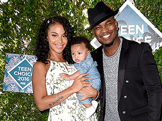 Baby's First Red Carpet! NE-YO Is All Smiles with Son Prince SJ at Teen Choice Awards