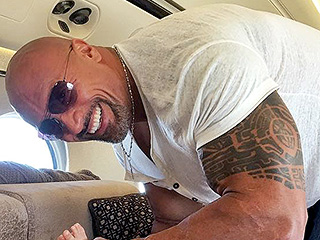 Dwayne 'The Rock' Johnson Does Diaper Duty: 'I'm the #1 Man for the Job'