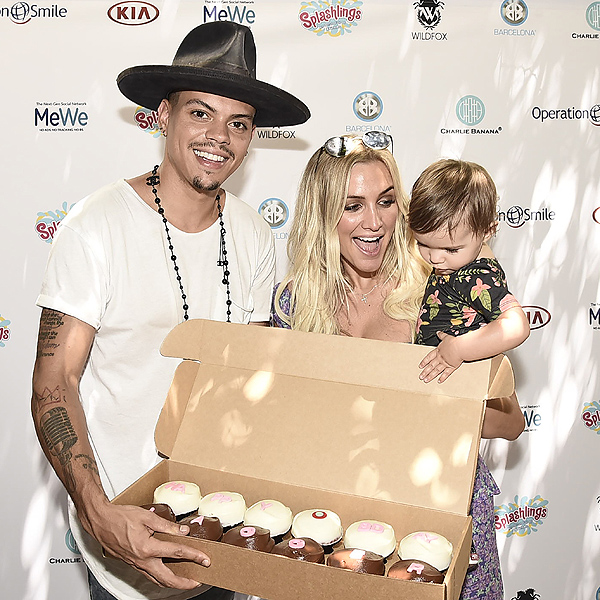 Ashlee Simpson Evan Ross Jagger Turns 1 Secondary