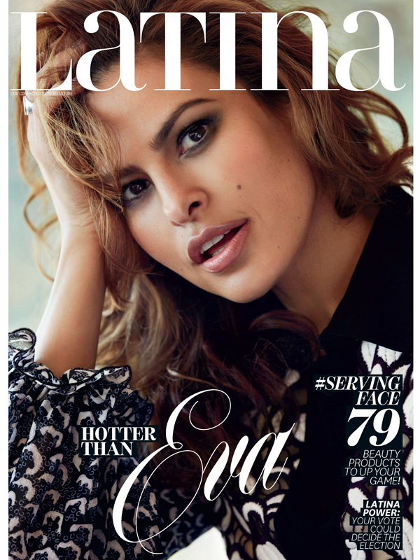 Eva Mendes Latina Magazine September 2016 Main