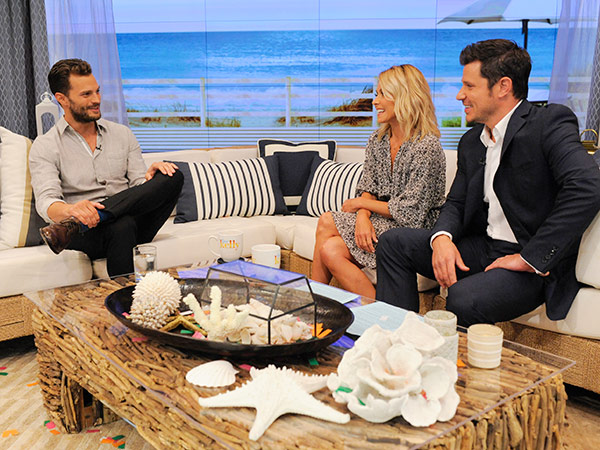 Jamie Dornan on Live with Kelly