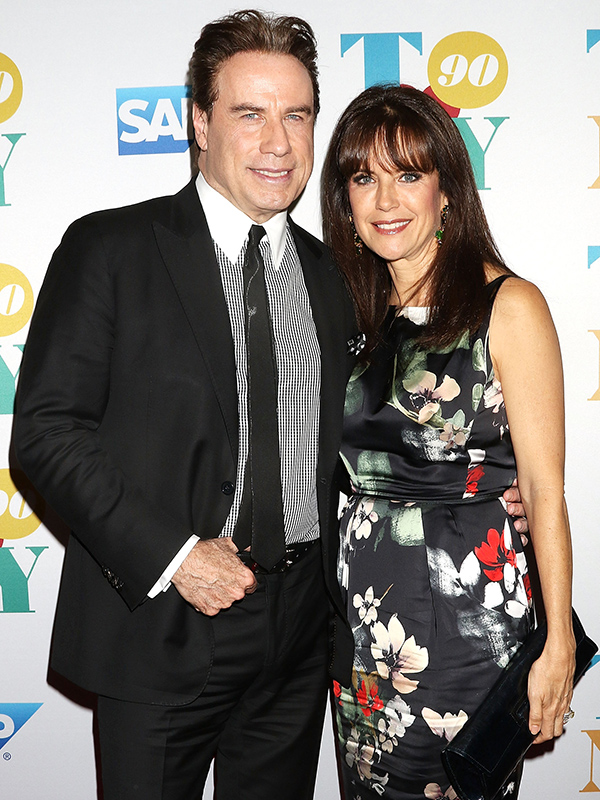 John Travolta Kelly Preston Tony Bennett Birthday