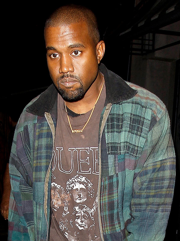Kanye West Saint necklace