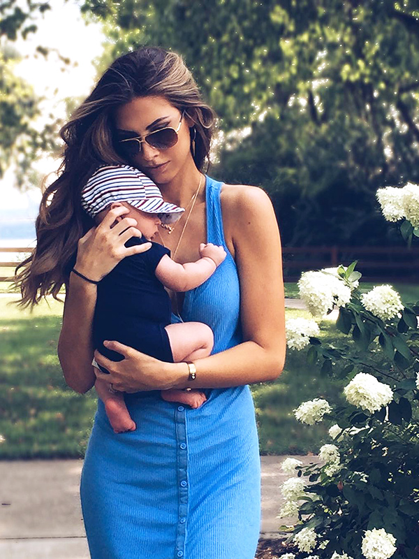 Katherine Webb and baby