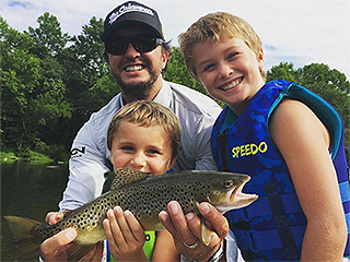 'HFE'! Luke Bryan Posts Sweet Photo of His Sons 'Huntin', Fishin' and Lovin' Every Day'
