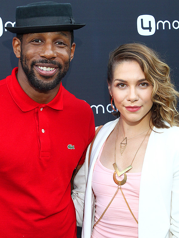 Stephen Boss Allison Holker 4Moms Event