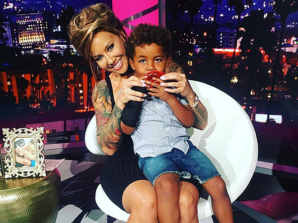Amber Rose Son Sebastian Exclusive