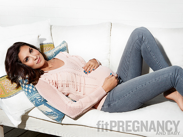 Daniela Ruah Fit Pregnancy and Baby