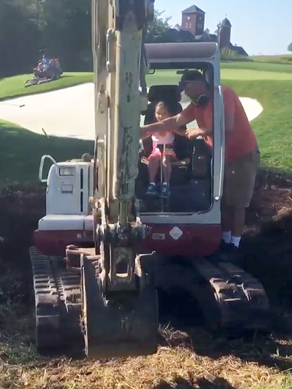 Ivanka Trump Arabella Backhoe