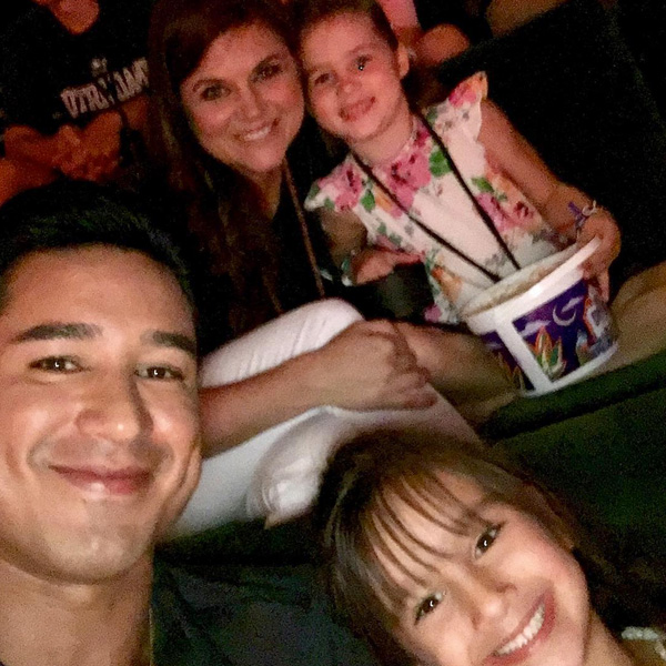 Mario Lopez Tiffani Thiessen Reunion Pete's Dragon