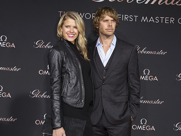 Eric Christian Sarah Wright Olsen Welcome Daughter