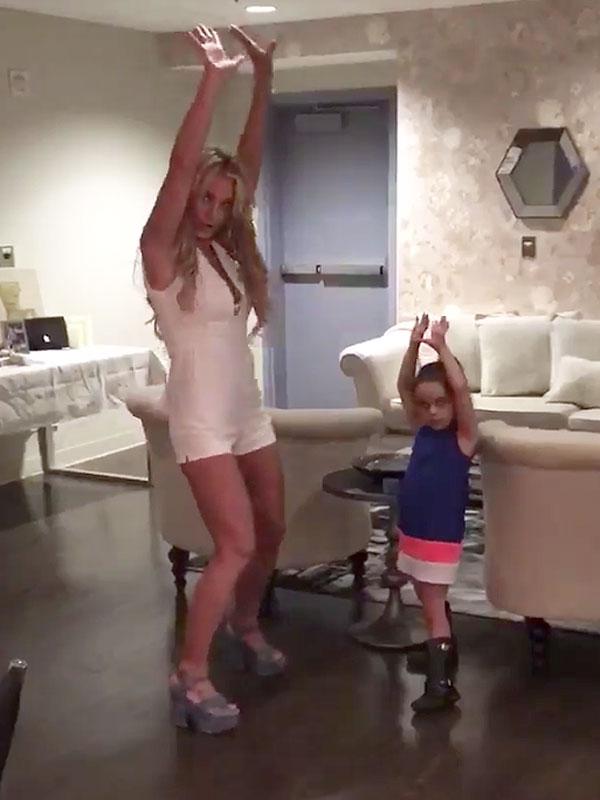 Britney Lexie Dancing