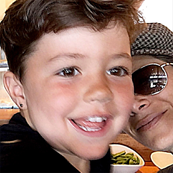 Jillian Michaels Son Phoenix Ears Pierced
