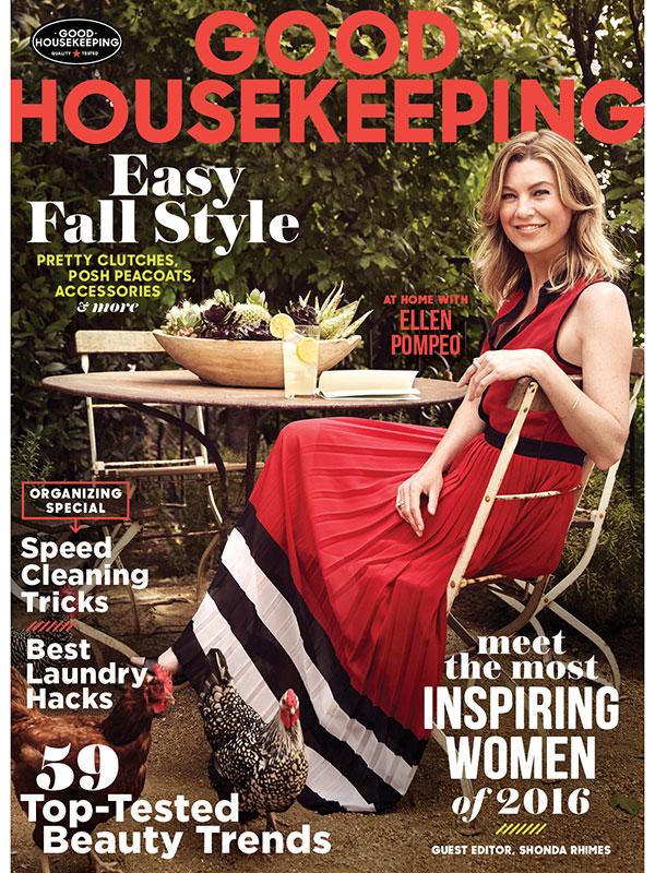 Shonda Rhimes Good Housekeeping