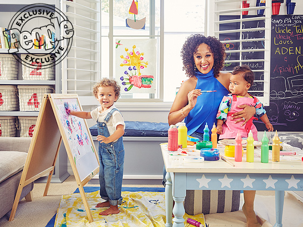 Tamera Mowry-Housley on Finger Painting with Kids