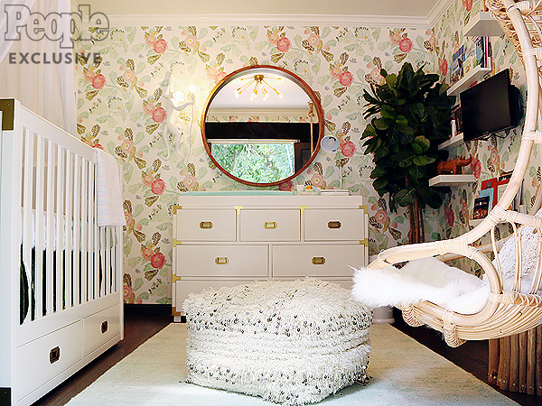 Willa Ford S Boho Chic Nursery And Meaningful Maternity