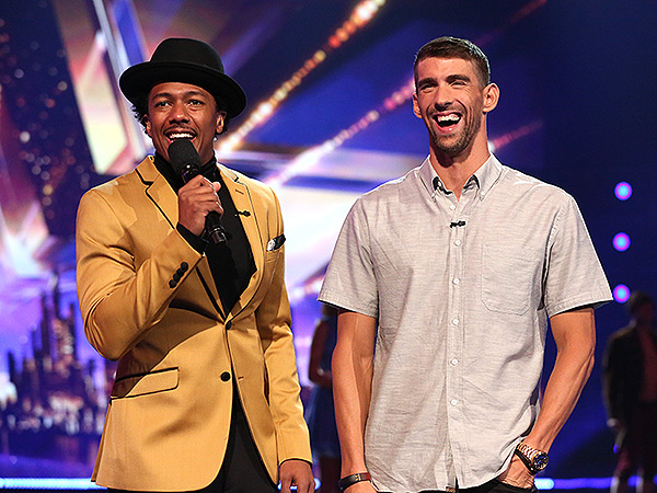 Michael Phelps son Boomer America's Got Talent