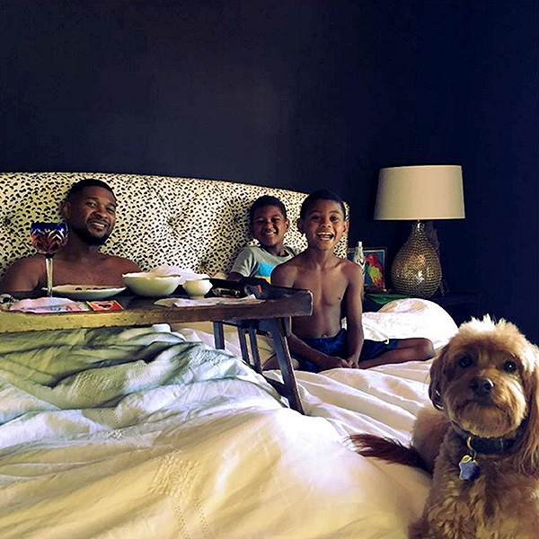 Usher On Life As A Dad And Most Recent Perfect Day With