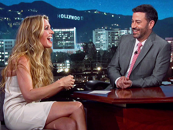 Cat Deeley Jimmy Kimmel Milo's Name