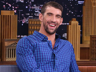 Michael Phelps Jokes About His Son Boomer's Name: 'He's Definitely Gonna Be the Cool Kid'