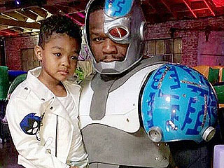 Go Shorty, It's Your Birthday! 50 Cent Celebrates Son Sire with Teen Titans Go Party