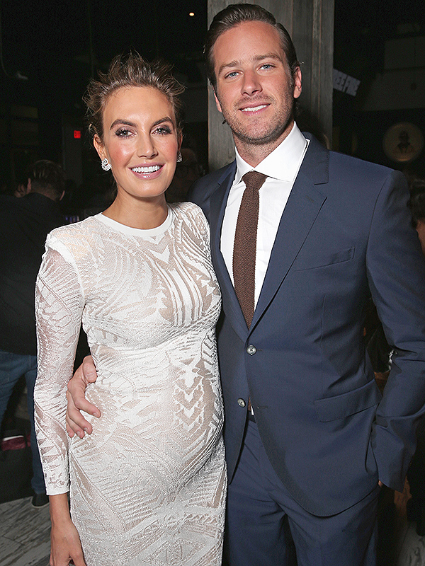 Armie Hammer and Elizabeth Chambers Expecting Second Child ...