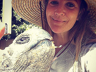 Family Fun! Drew Barrymore and Daughters Make (and Feed) a Few New Farmyard Friends