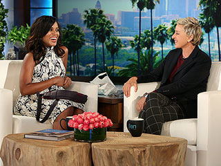 Kerry Washington Plays Coy About Potential Baby Names, Jokes Ellen Is At 'the Top of the List'