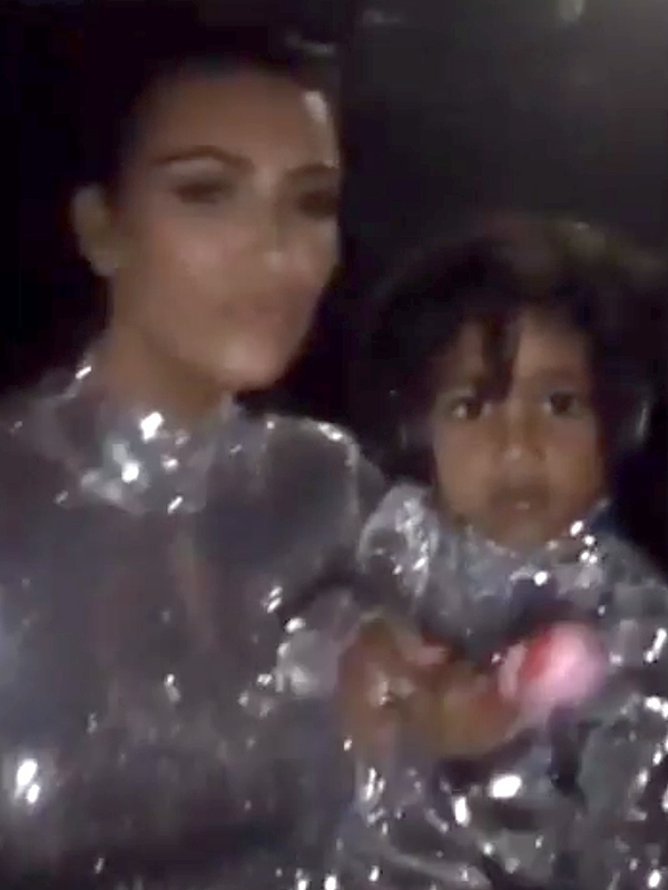 North West and Kim Kardashian West