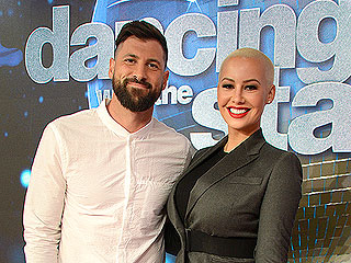 Amber Rose on DWTS Partner Maksim Chmerkovskiy: 'He's Gonna Be a Great Dad'