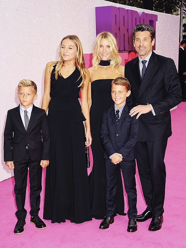 Patrick Dempsey wife daughter sons