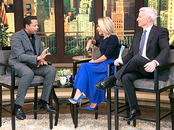 Terrence Howard Live with Kelly Favorite Kid