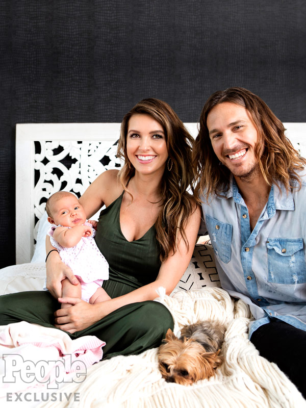 Audrina Patridge Happiness New Mom