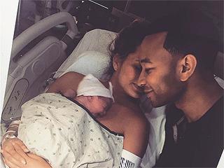 Chrissy Teigen Shares Adorable Flashback of Daughter Luna After Giving Birth