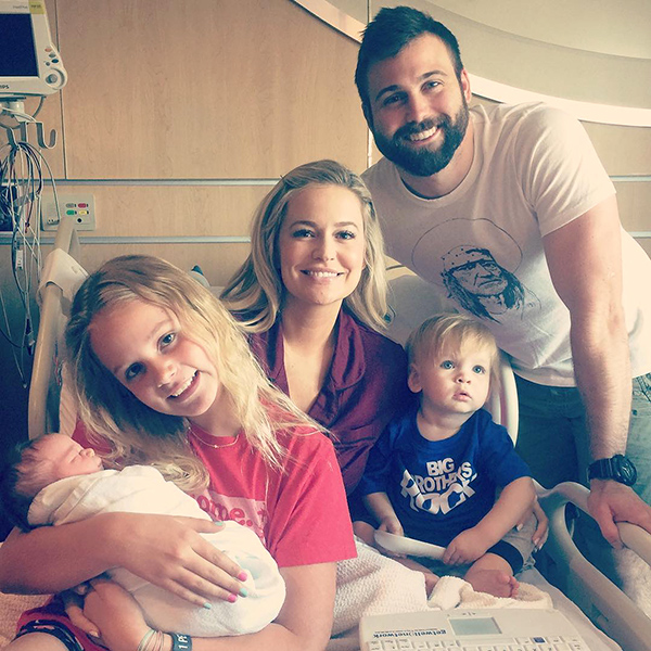 Emily Maynard Welcomes Son