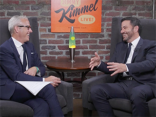 WATCH: Jimmy Kimmel on the Challenges of Toilet Training His 2-Year-Old: 'She Wants to Take Her Potty on the Trampoline'