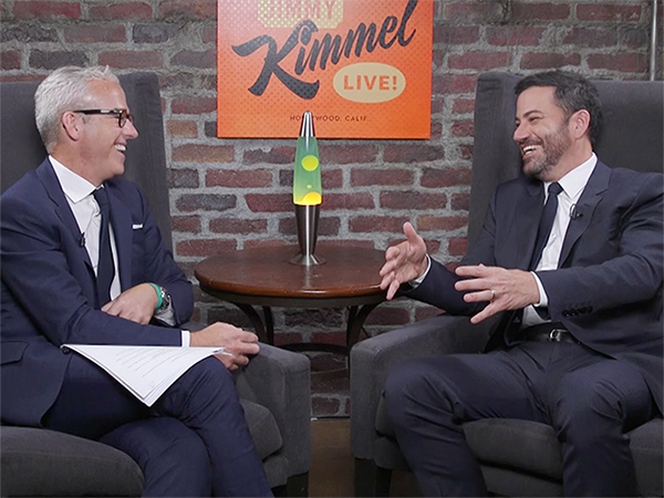 Jimmy Kimmel Jess Cagle Parenting Interview