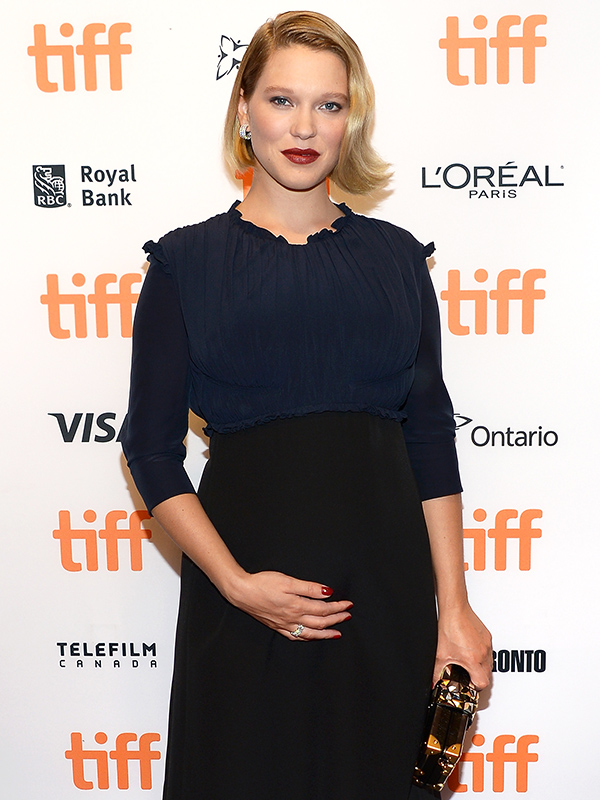 Lea Seydoux pregnant TIFF