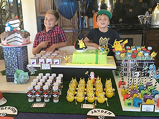Happy Birthday, Jayden and Preston! Britney Spears Celebrates Her Sons with a Pokémon-Themed Bash