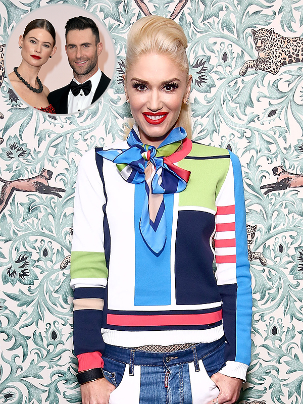 Gwen Stefani on Adam Levine and Behati Prinsloo Baby