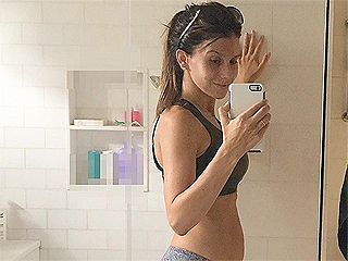 Hilaria Baldwin Returns to Running One-Week Post Baby – and Shows Off Her Changing Body