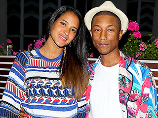 Second Child on the Way for Pharrell Williams and Wife Helen Lasichanh – See Her Baby Belly!