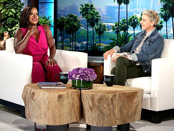 Viola Davis Ellen DeGeneres