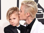 5 Reasons Jaxon Bieber Might Be Practicing His 'Blue Steel' on the Grammys Red Carpet