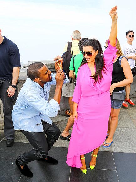 Rio, February 2013 photo | Kanye West, Kim Kardashian