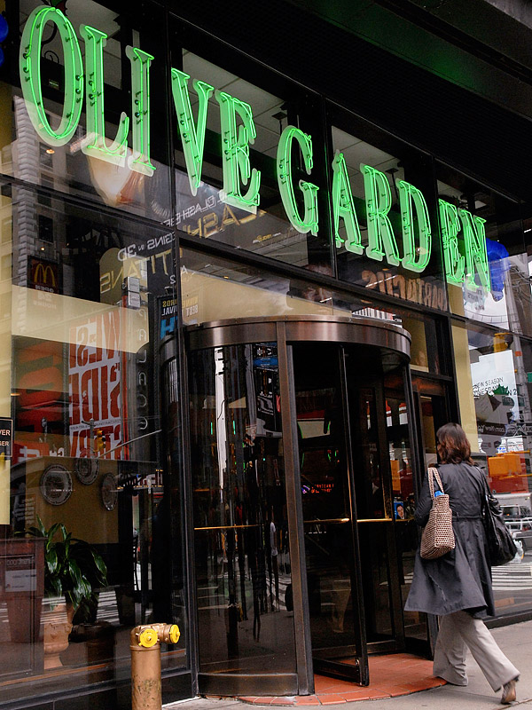 Olive Garden New Year 39 S Eve What The Times Square Restaurants Charge Great Ideas